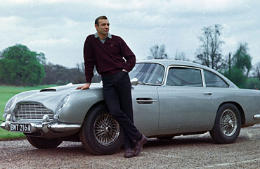 Aston Martin DB5 For Hire