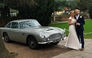 Aston Martin DB5 Hire, Wedding Car