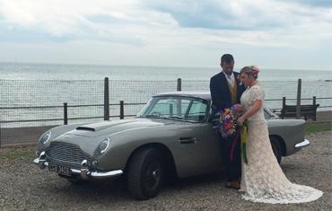 Aston Martin DB5 Hire, Special Wedding Car