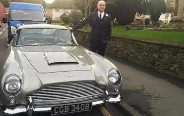 Testimonials For Aston Martin DB5 Hire | Weddings & Filmshoots